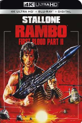Filme Rambo 2 - A Missão 4K Ultra HD 1985 Torrent