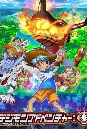 Torrent Anime Desenho Digimon Adventure - 1ª Temporada - Legendado 2020  1080p 720p Full HD HD WEB-DL completo