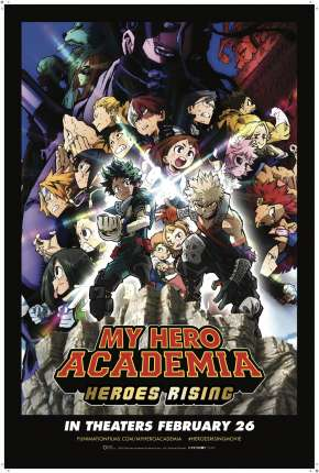 My Hero Academia: Ascensão dos Heróis - Legendado Filmes Torrent Download onde eu baixo