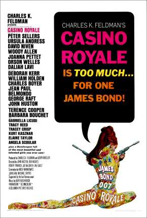 Filme 007 - Cassino Royal 1967 Torrent
