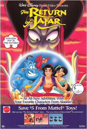 Aladdin - O Retorno de Jafar Filmes Torrent Download onde eu baixo