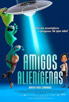 Torrent Filme Amigos Alienígenas - Luis e the Aliens 2018 Dublado 1080p 720p BluRay Full HD HD completo
