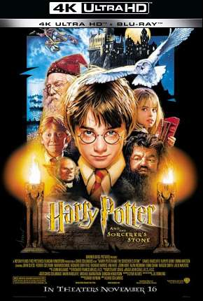 Harry Potter e a Pedra Filosofal - Versão do Cinema 4K BluRay Filmes Torrent Download onde eu baixo