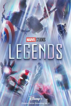 Lendas da Marvel - 1ª Temporada Legendada Séries Torrent Download onde eu baixo