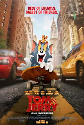 Filme Tom e Jerry - O Filme 2021 Torrent